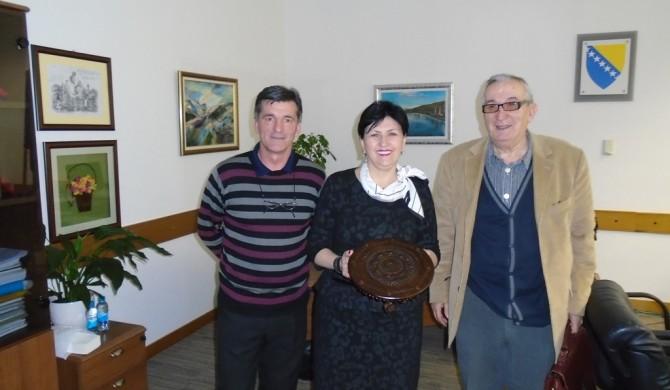 POSJETA GOSPOĐI SEMIHI BOROVAC MINISTRICI ZA LJUDSKA PRAVA I IZBJEGLICE  SAVJETA MINISTARA BiH