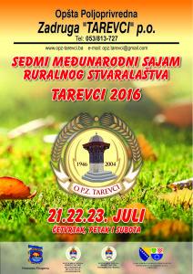 Sajam ruralnog stvaralaštva Tarevci 2016