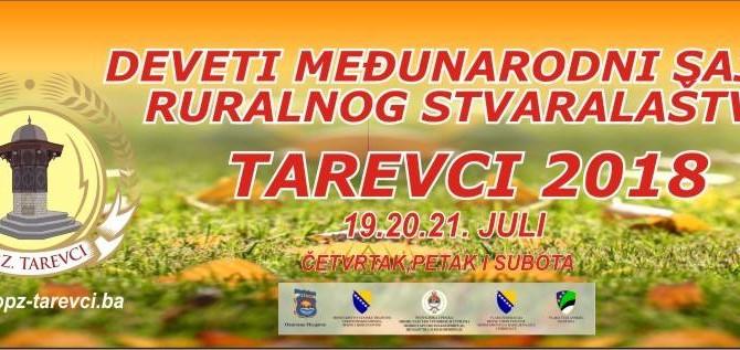 Najava: IX Međunarodni sajam ruralnog stvaralaštva TAREVCI 2018